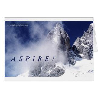 Aspire! Card