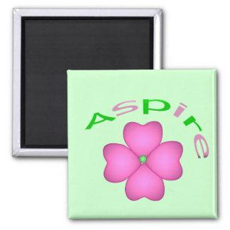 Aspire Flower Magnet