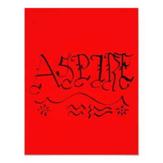 Aspire Custom Invites