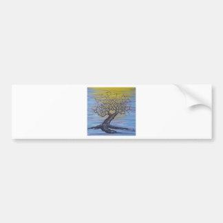 Aspire Love Tree Bumper Sticker