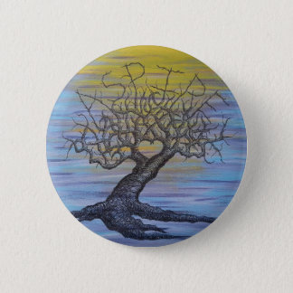 Aspire Love Tree Pinback Button