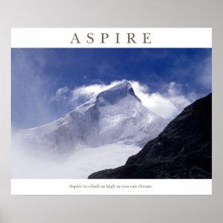 Aspire - Mt Aspiring Print