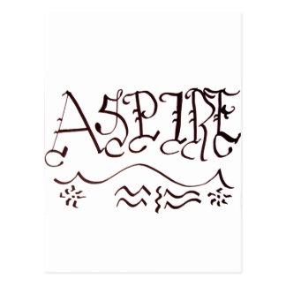 Aspire Postcard