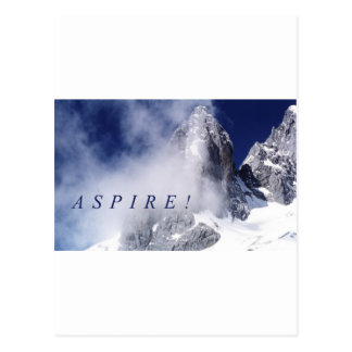 Aspire! Postcard