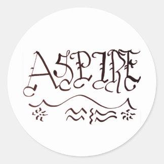 Aspire Sticker