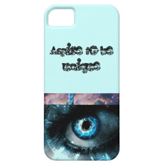 Aspire to be unique iPhone case