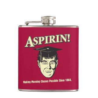 Aspirin: Make Morning Class Possible Flask
