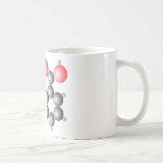 Aspirin Molecular Structure Coffee Mug