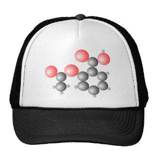 Aspirin Molecular Structure Trucker Hat