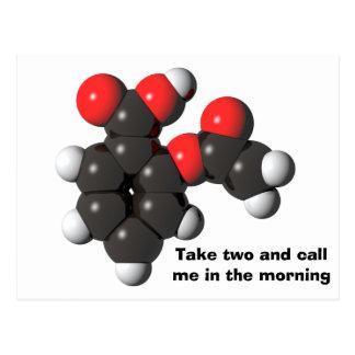 Aspirin postcard