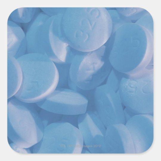 Aspirin Square Sticker
