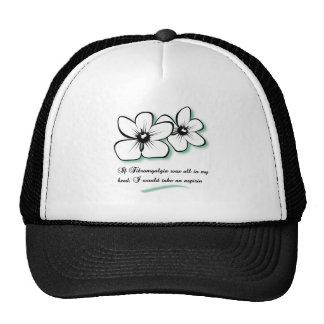 aspirin trucker hat