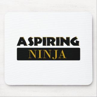 Aspiring Ninja Mouse Pad