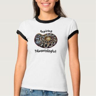 Aspiring Paleontologist T Shirts