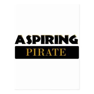 Aspiring Pirates Postcard