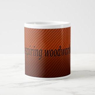 Aspiring Woodworker -jumbo mug