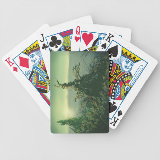 Aspiring Young Tree Bicycle Playing Cards