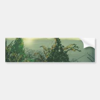 Aspiring Young Tree Bumper Sticker