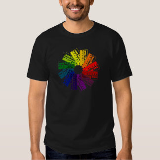 Asplenia Color Wheel T-shirt