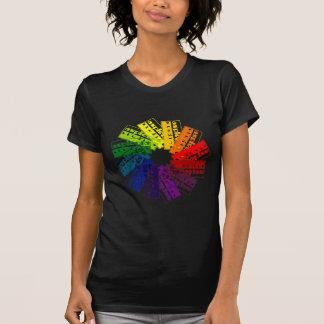 Asplenia Color Wheel T Shirt