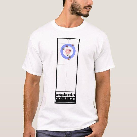 Asplenia Studios Curling (white fabric) T-Shirt