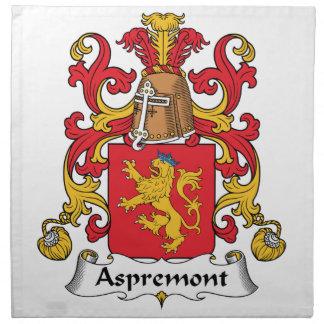 Aspremont Family Crest Napkin