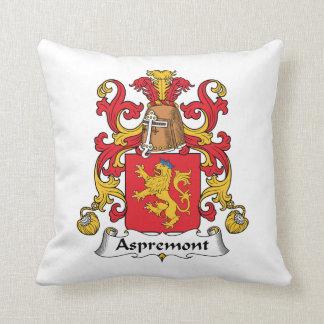 Aspremont Family Crest Pillow