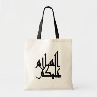 Assalam Alaikum Bolsa Lienzo
