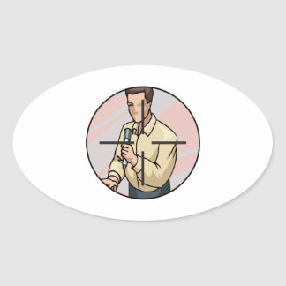 Assasination Oval Sticker