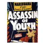 """""""Assassin of Youth"""" Postcard"""