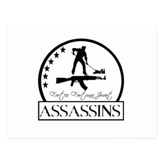 assassin patch 3 postcard