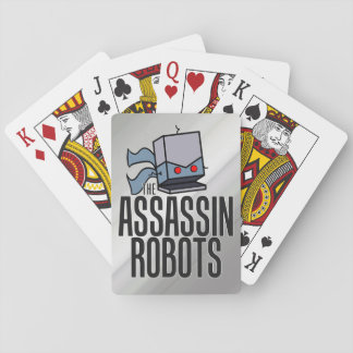 Assassin Robots Playing Cards