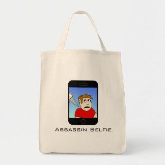 Assassin Selfie Tote Bag