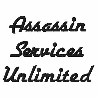 Assassin Services Unlimited company shirt Polo Shirt