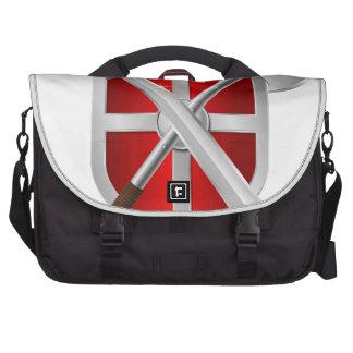 assassin Shield Axe sward Laptop Commuter Bag