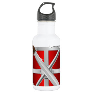 assassin Shield Axe sward Water Bottle