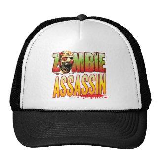Assassin Zombie Head Trucker Hat