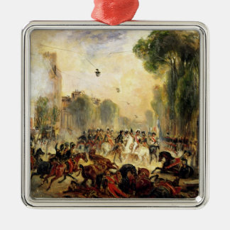 Assassination Attempt on King Louis-Philippe Christmas Tree Ornament