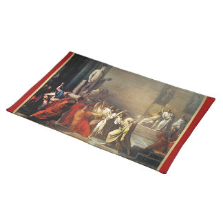 Assassination of Julius Caesar Cloth Placemat