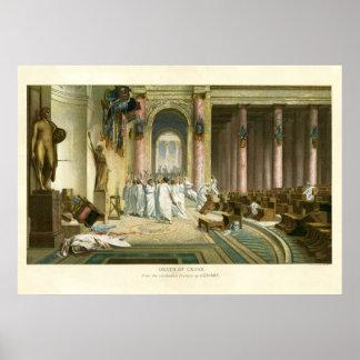 Assassination of Julius Caesar Poster
