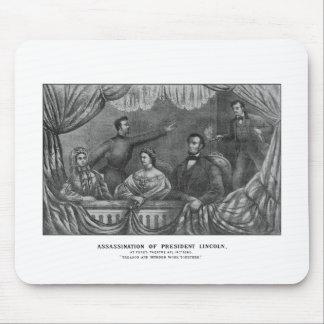 Assassination of President Lincoln Mousepad