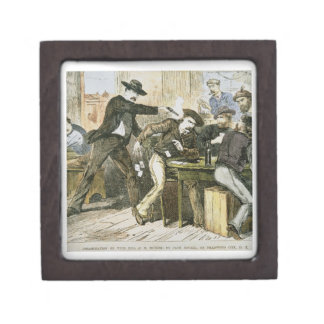 Assassination of 'Wild Bill' (W.B. Hickok) by Jack Gift Box