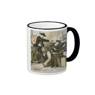 Assassination of 'Wild Bill' (W.B. Hickok) by Jack Ringer Coffee Mug