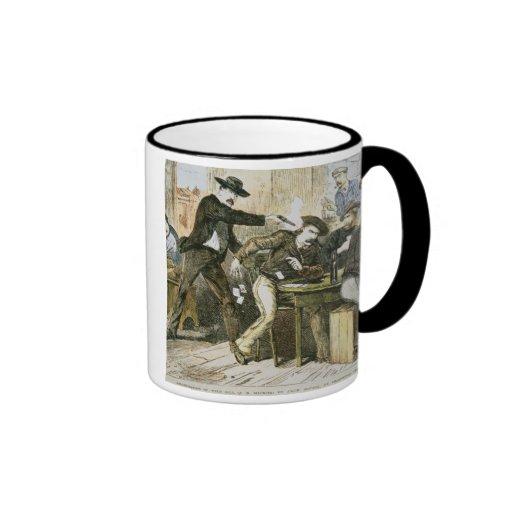 Assassination of 'Wild Bill' (W.B. Hickok) by Jack Coffee Mug