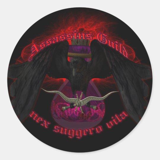 Assassins Guild Classic Round Sticker