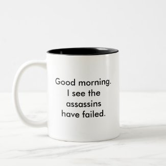Assassins Coffee Mug