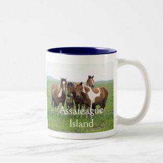 Assateague Island Horses Mug