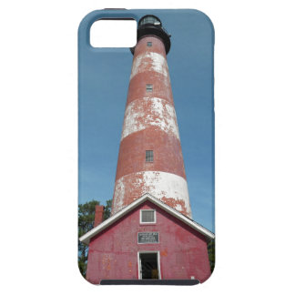 Assateague Island Lighthouse Looking Up iPhone 5 Covers