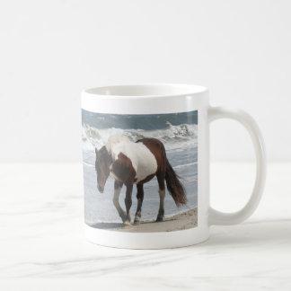 Assateague Island Pony Classic White Coffee Mug