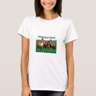 Assateague Island (pony family) T-Shirt